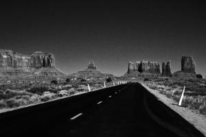 God's Highway With Sculptures